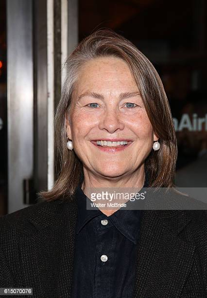 Cherry Jones attends the Broadway Opening Night performance of 'The Cherry Orchard' at the American Airlines Theatre on October 16 2016 in New York...