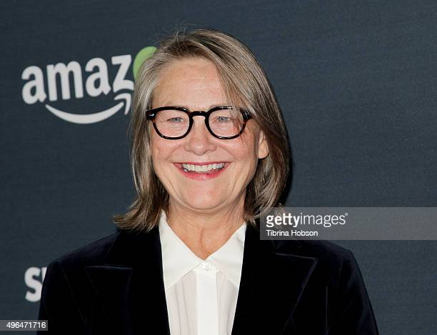 Cherry Jones attends the premiere of Amazon's 'Transparent' season 2 at SilverScreen Theater at the Pacific Design Center on November 9 2015 in West...