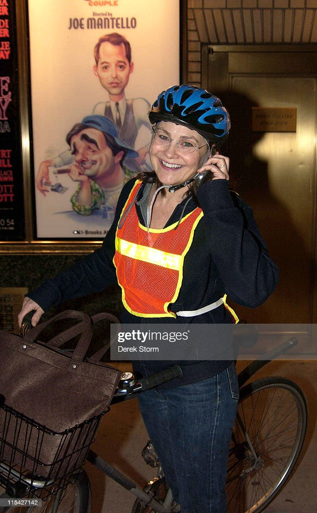 Cherry Jones Sighting in New York City - April 15, 2006