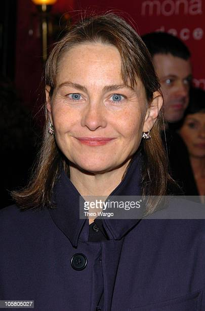 Cherry Jones during Mona Lisa Smile New York Premiere Inside Arrivals at Ziegfeld Theater in New York City New York United States
