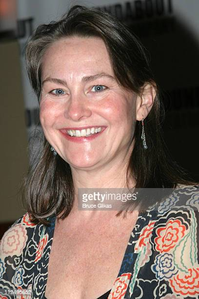 Cherry Jones during Roundabout Theatre Company's 2005 Spring Gala Celebration at Pier 60 at Chelsea Piers in New York NY United States