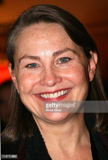 Cherry Jones during 'Shipwreck The Coast of Utopia Part 2' Opening Night Party at Avery Fisher Hall in New York City New York United States