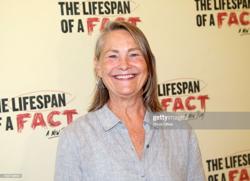 Cherry Jones poses at the 'The Lifespan Of A Fact' photo call and meet & greet at The New 42nd Street Studios on September 6, 2018 in New York City.
