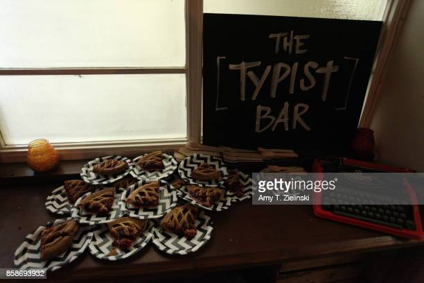 Cherry Pie is served during the Twin Peaks UK Festival 2017 at Hornsey Town Hall Arts Centre on October 7 2017 in London England Created by writer...