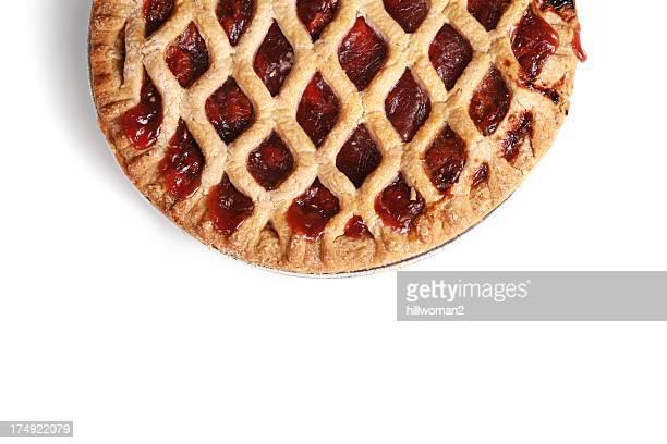 Cherry Pie on White