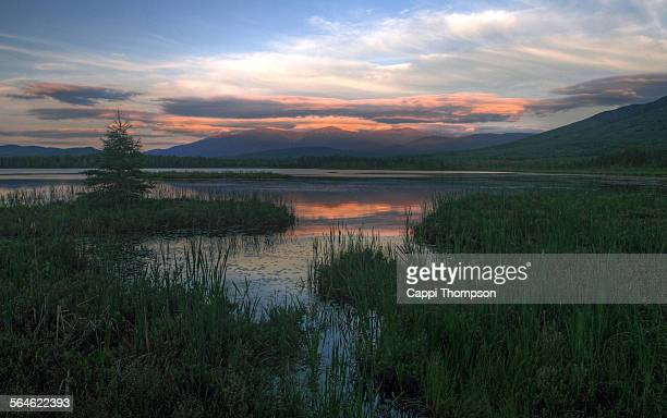 Cherry Pond Sunset