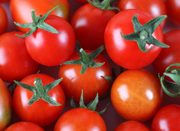 Cherry Tomatoes Background Wall Art