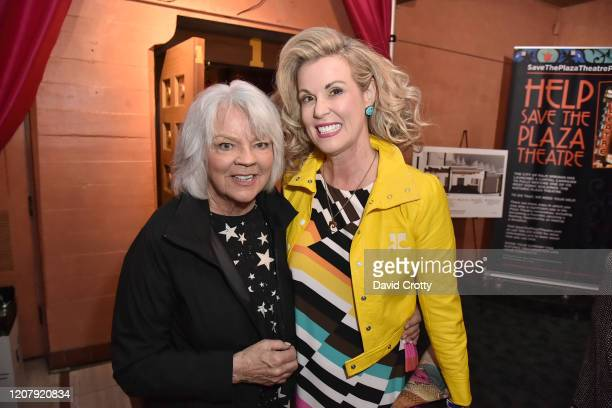 Cherry Vanilla and Kiki Tormo attend the House Of Cardin Special Screening At Palm Springs Modernism Week at The Plaza Theater on February 21 2020 in...
