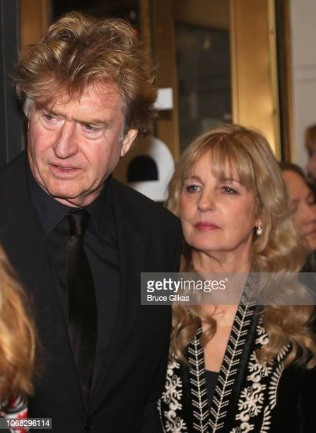 Cher's Manager Roger Davies and Cher's sister Georganne LaPiere at the opening night of the new musical The Cher Show on Broadway at The Neil Simon...