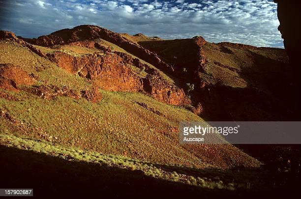 Chert dykes North Pole area Pilbara region Western Australia