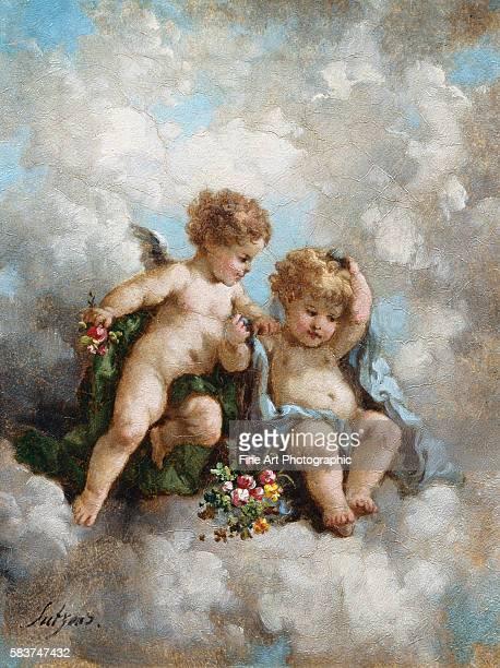 Cherubs in the Clouds by Charles Augustus Henry Lutyens