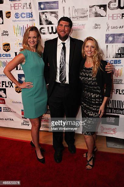 Cheryl Allison Jonathan Bucari and Linda Kruse arrive at the 11th Annual LA Femme International Film Festival awards show and gala at The Los Angeles...