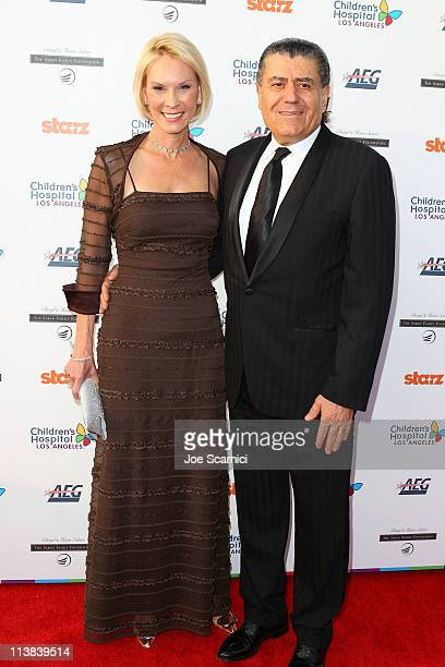 Cheryl and Haim Saban arrive at Dream For Kids Grand Opening Gala supported by AEG and presented by Starz LLC benefitting Children's Hospital Los...
