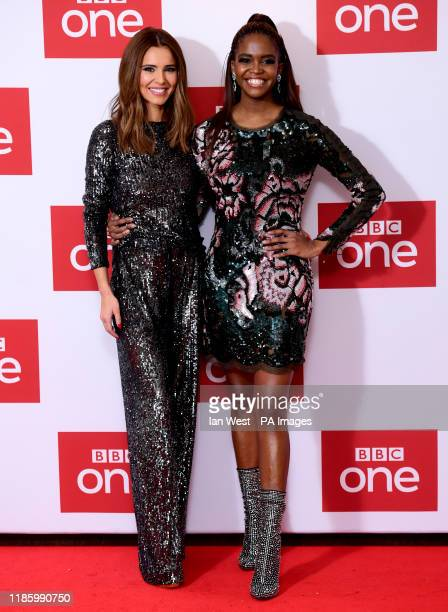 Cheryl and Oti Mabuse attending The Greatest Dancer Photocall held at the Soho Hotel London