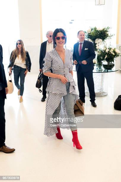 Cheryl arrives during the 71st annual Cannes Film Festival at Hotel Martinez on May 11 2018 in Cannes France