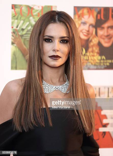 Cheryl arrives for the Gala to celebrate the Vogue 100 Festival Kensington Gardens on May 23 2016 in London England