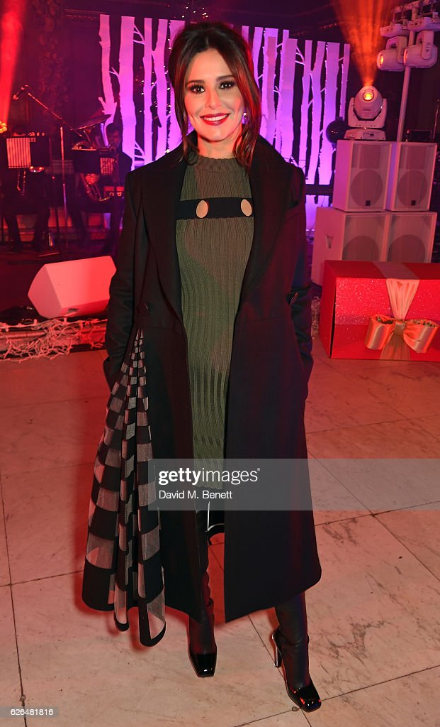 Cheryl attends the Fayre of St James's hosted by Quintessentially Foundation and the Crown Estate in aid of Cheryl's Trust in support of The Prince's Trust on November 29, 2016 in London, England.