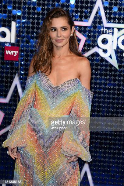 Cheryl attends The Global Awards 2019 at Eventim Apollo Hammersmith on March 07 2019 in London England
