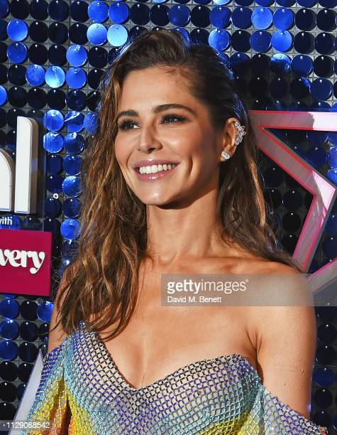 Cheryl attends The Global Awards with Verycouk at the Eventim Apollo Hammersmith on March 7 2019 in London England