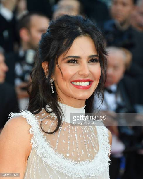 Cheryl attends the screening of Ash Is The Purest White during the 71st annual Cannes Film Festival at Palais des Festivals on May 11 2018 in Cannes...
