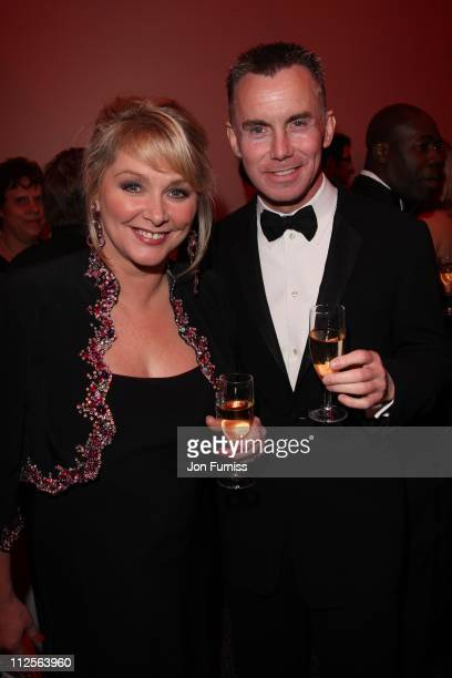 Cheryl Baker and Gary Rhodes attends the The Archant London Press Ball on November 17 2007 in London