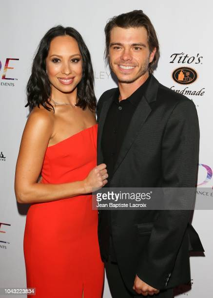 Cheryl Burke and Matthew Lawrence attend the RIDE Foundation's 2nd Annual Dance For Freedom on September 29 2018 in Santa Monica California