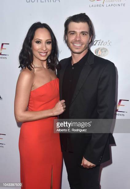 Cheryl Burke and Matthew Lawrence attend the RIDE Foundation's 2nd Annual Dance For Freedon at gala The Broad Stage on September 29 2018 in Santa...