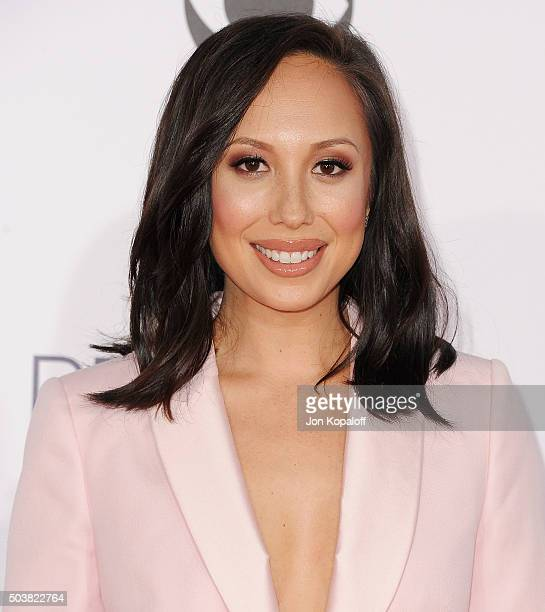 Cheryl Burke arrives at People's Choice Awards 2016 at Microsoft Theater on January 6 2016 in Los Angeles California