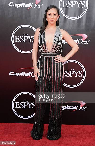 Cheryl Burke arrives at The 2016 ESPYS at Microsoft Theater on July 13 2016 in Los Angeles California