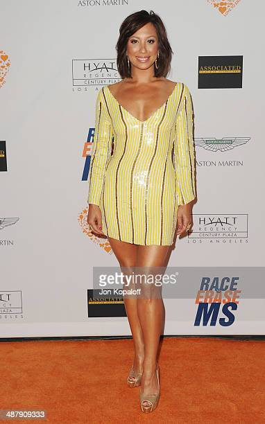 Cheryl Burke arrives at the 21st Annual Race To Erase MS Gala at the Hyatt Regency Century Plaza on May 2, 2014 in Century City, California.
