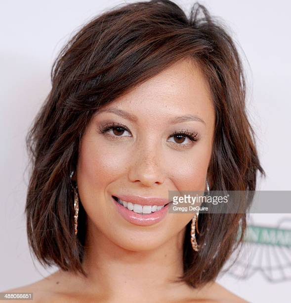 Cheryl Burke arrives at the 21st Annual Race To Erase MS Gala at the Hyatt Regency Century Plaza on May 2 2014 in Century City California