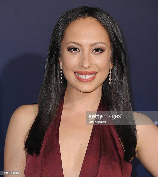 Cheryl Burke arrives at the Los Angeles Premiere 'La La Land' at Mann Village Theatre on December 6 2016 in Westwood California