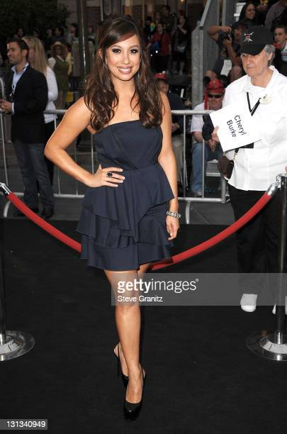 Cheryl Burke arrives at the 'Pirates Of The Caribbean On Stranger Tides' World Premiere at Disneyland on May 7 2011 in Anaheim California