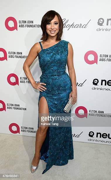 Cheryl Burke arrives for the 22nd Annual Elton John AIDS Foundation's Oscar Viewing Party held at West Hollywood Park on March 2 2014 in West...