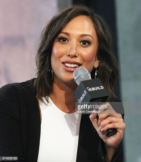 Cheryl Burke attends AOL Build Speaker Series Cheryl Burke at AOL Studios In New York on May 19 2015 in New York City