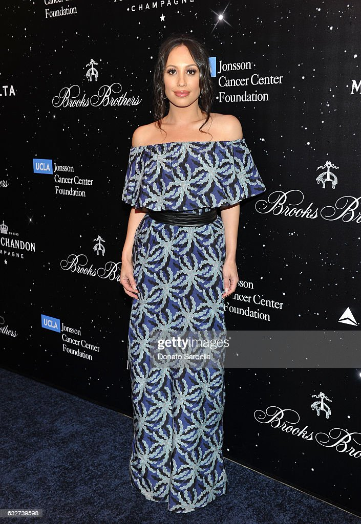 Cheryl Burke attends 'Le Casino' night hosted by Brooks Brothers in Beverly Hills to benefit UCLA Jonsson Cancer Center Foundation at Brooks Brothers Rodeo on January 25, 2017 in Beverly Hills, California.