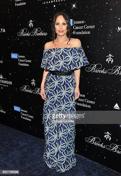 Cheryl Burke attends 'Le Casino' night hosted by Brooks Brothers in Beverly Hills to benefit UCLA Jonsson Cancer Center Foundation at Brooks Brothers...