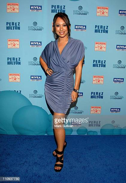Cheryl Burke attends Perez Hilton's Blue Ball Birthday Celebration on March 26 2011 in Hollywood California