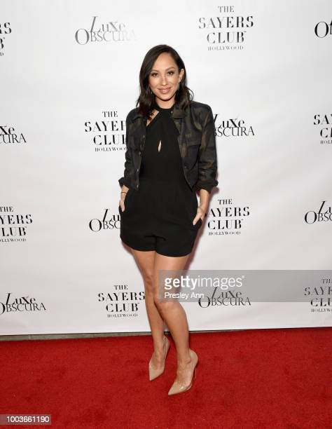 Cheryl Burke attends Private VIP Premier of Luxe Obscura at The Sayers Club on July 21 2018 in Hollywood California