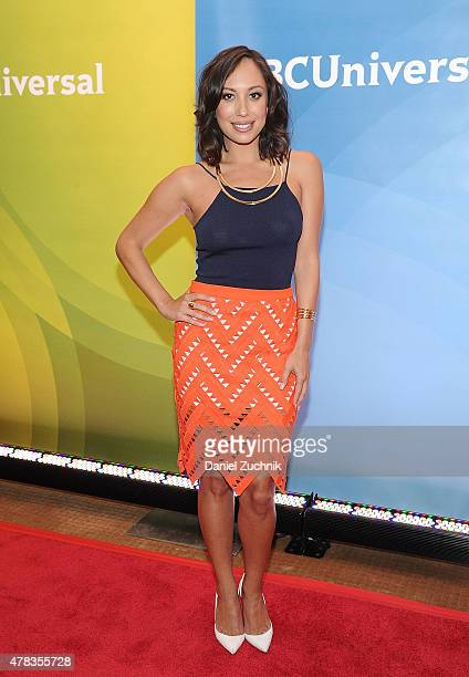 Cheryl Burke attends the 2015 NBC New York Summer Press Day at Four Seasons Hotel New York on June 24 2015 in New York City