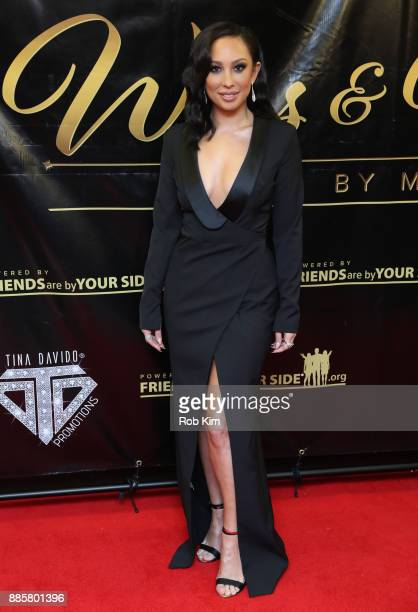 Cheryl Burke attends the 2017 One Night With The Stars Benefit at The Theater at Madison Square Garden on December 4 2017 in New York City