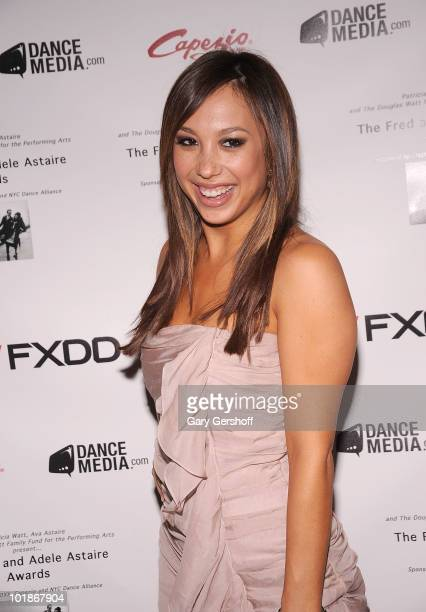 Cheryl Burke attends the 28th annual Fred Adele Astaire Awards at the Gerald W Lynch Theatre on June 7 2010 in New York City