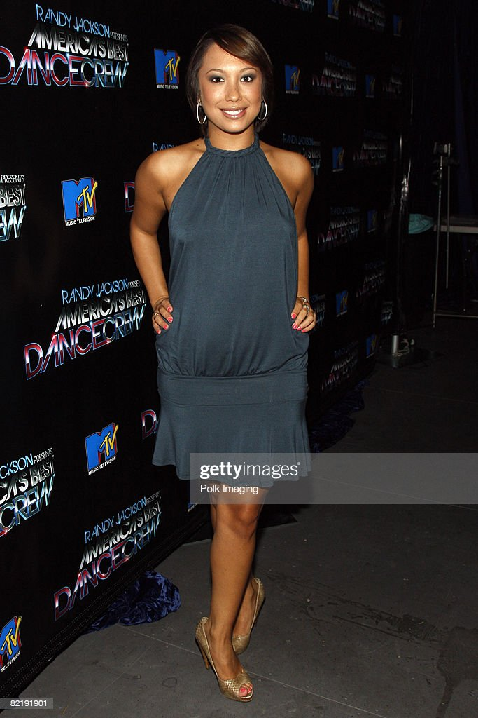 Cheryl Burke Backstage During The Taping Of Randy Jackson Presents Americas Best Dance Crew
