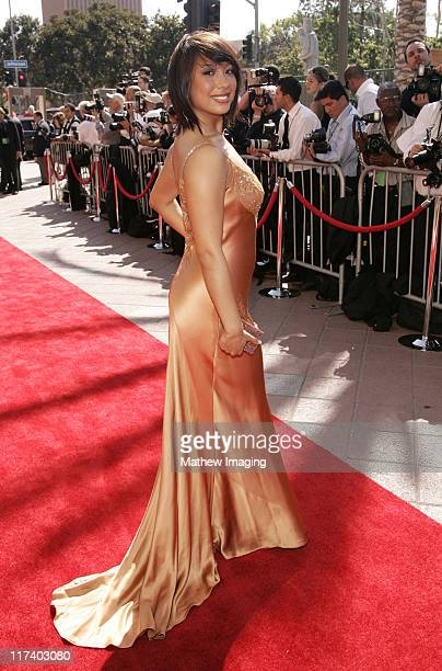 Cheryl Burke during 58th Annual Creative Arts Emmy Awards Arrivals at The Shrine Auditorium in Los Angeles California United States