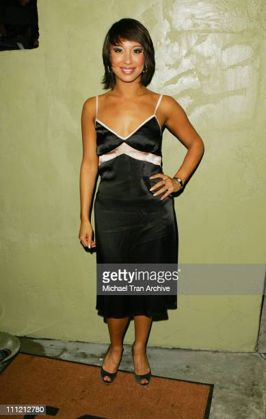 Cheryl Burke during 'Dancing With The Stars' After Party Hosted by Vivica A Fox Arrivals at Sona Restaurant in Encino California United States