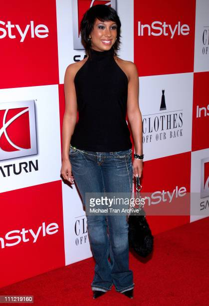 Cheryl Burke during InStyle Presents 'Clothes Off Our Back' Charity Auction Arrivals at Republic in Los Angeles California United States