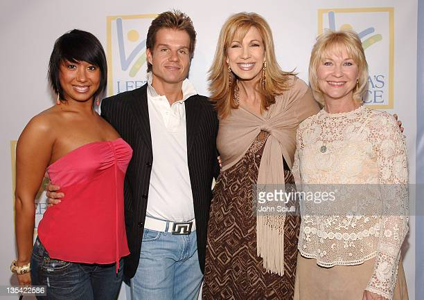 Cheryl Burke Louis Van Amstel Leeza Gibbons and Dee Wallace