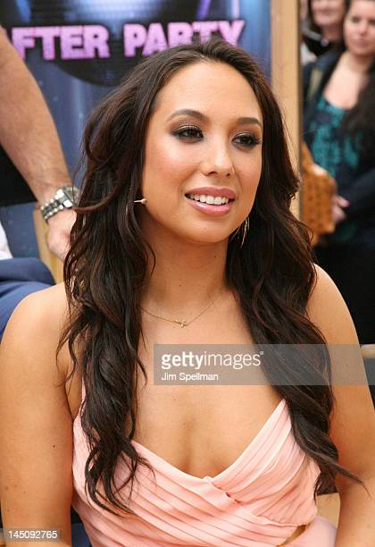 Cheryl Burke performs on ABC's Good Morning America in Times Square on May 23 2012 in New York City