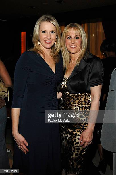 Cheryl Casone and Angela Anton attend BOULEVARD MAGAZINE Celebrates their April Issue at Hawaiian Tropic Zone on April 14 2008 in New York City