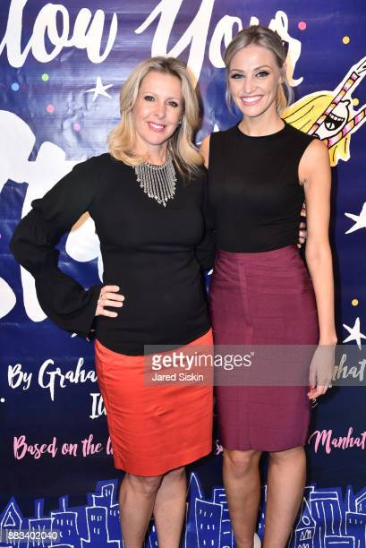 Cheryl Casone and Carley Shimkus attend Follow Your Star Book Launch at 800 B Fifth Avenue on November 30 2017 in New York City